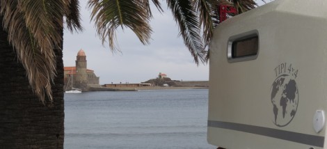 Cellule de voyage Tipi 4x4 à Collioure 875