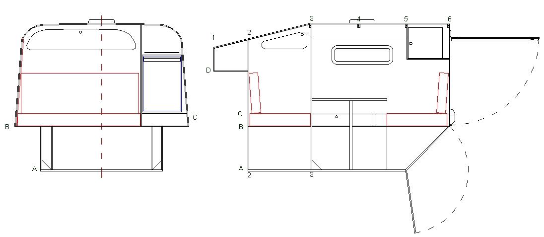 conception tipi 4x4. Black Bedroom Furniture Sets. Home Design Ideas