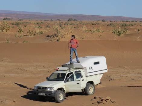 TIPI4x4, cellule de voyage au Maroc