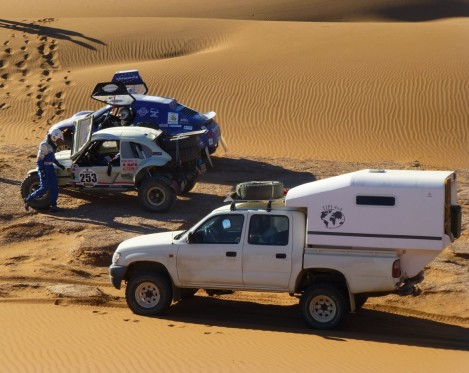 cellule 4x4 course Africa Eco Race