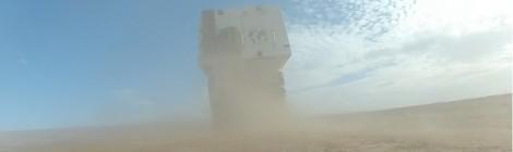 cellule 4x4 dans le désert Marocain