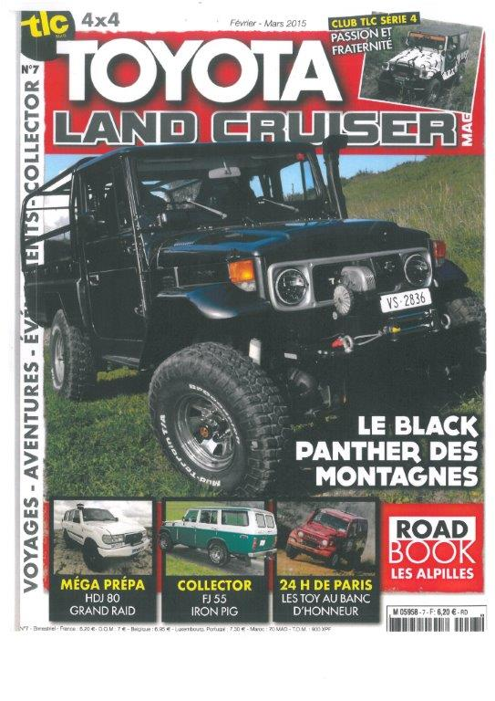 toyota land cruiser magazine, essai tipi4x4 cellule de voyage pour 4x4