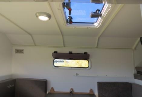 panneau de toit géant dans cellule TIPI4x4