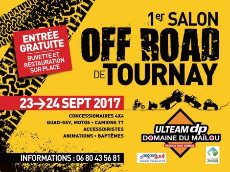 1er salon off Road de Tournay