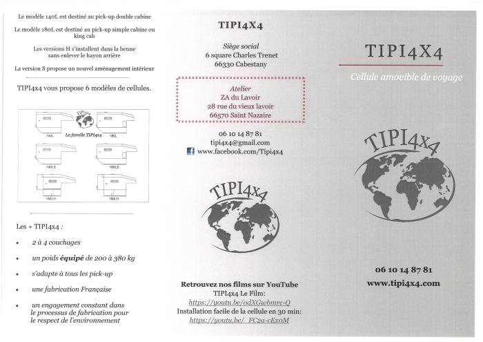 Flyer TIPI4x4