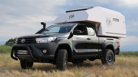 Toyota noir et cellule TIPI4x4 180L