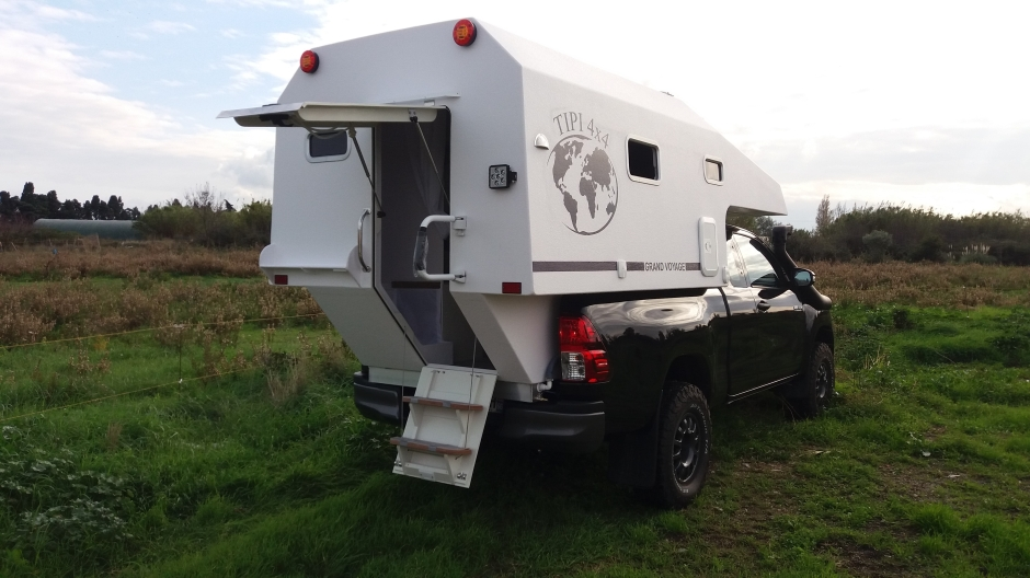 cellule GRAND VOYAGE TIPI4x4
